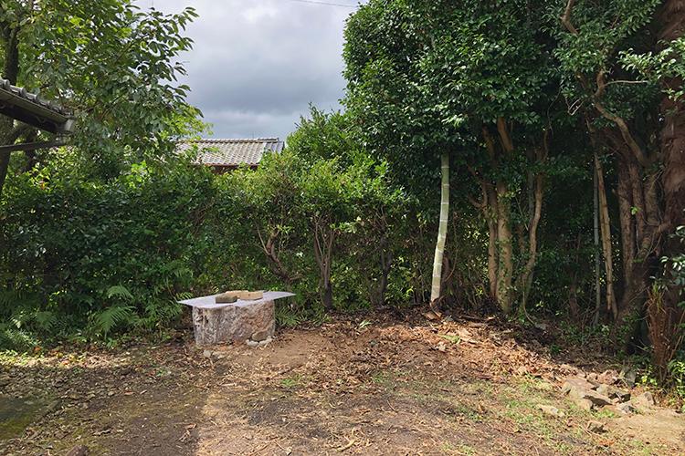 解体後の東小屋